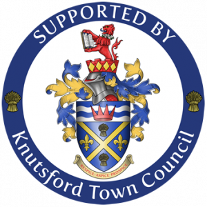 Logo indicating support from Knutsford Town Council